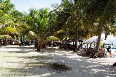 Buy food in Kalanggaman Island