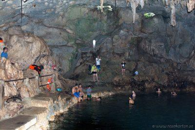 Hinagdanan Cave, Panglao