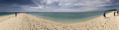 Kalanggaman Island panorama