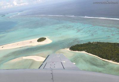 Aitutaki from air
