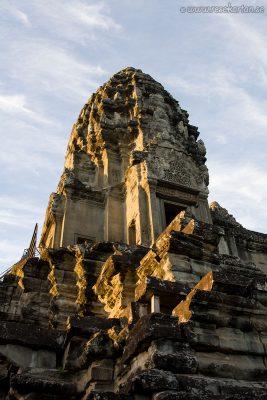 Angkor Wat Ruin Tower