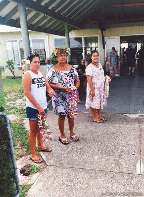 Arrival at Aitutaki