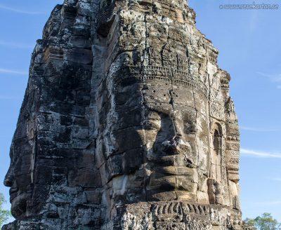 A statue at Bayon, Angkor