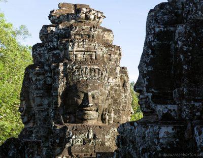 Statues at Bayon, Angkor