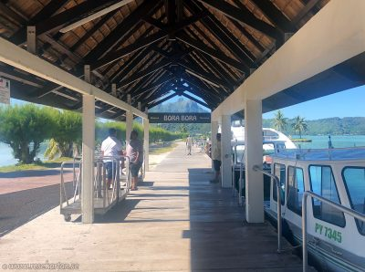 Bora Bora at airport