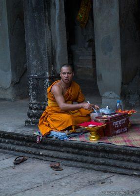 A buddhist at Angkor