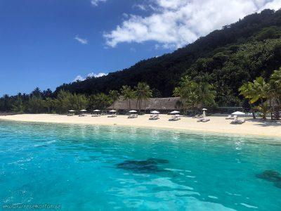 Conrad Bora Bora Nui - Private beach