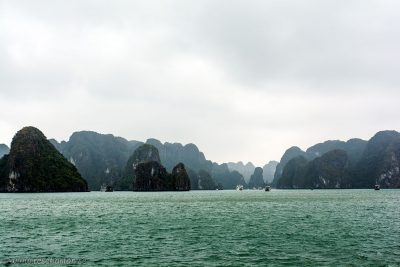 Cruising in Halong Bay