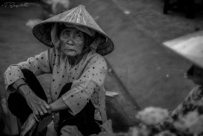 Woman in Ho Chi Minh City