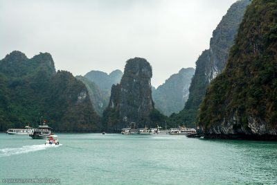 Outside of Sung Sot Cave, Halong Bay