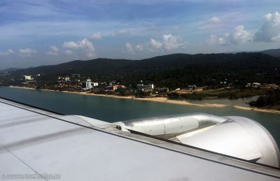 Aerial view of Long Beach, Phu Quoc