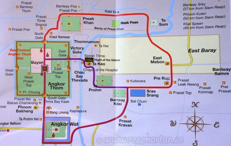 Small & Grand tour, Angkor
