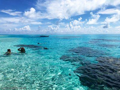Snorkling, Aitutaki