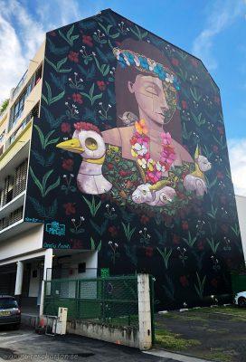 Tahiti street art