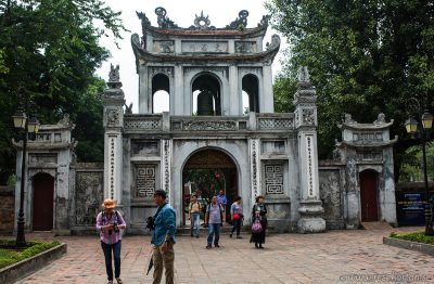 Temple of Literature port, Hanoi
