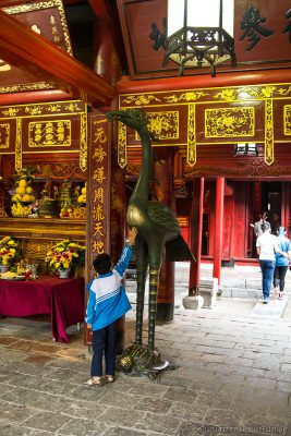 Temple of Literature, healthy and long life, Hanoi