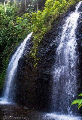 Twin Waterfalls, Tahiti