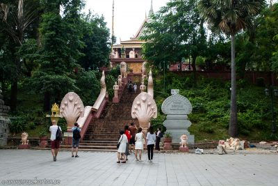 Wat Ounalom historical site, Phnom Penh