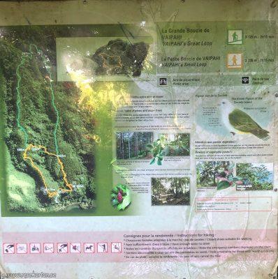 Water gardens of Vaipahi - Information