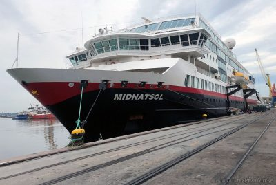 MS Midnatsol in Montevideo