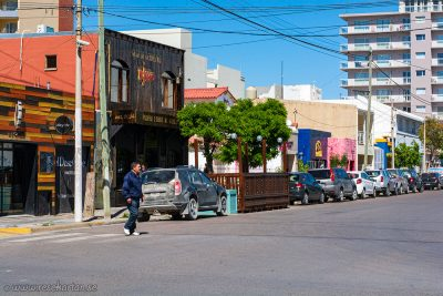 A street in Puerto Madryn