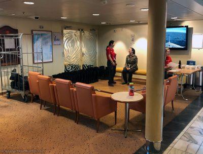Testing boots, Hurtigruten