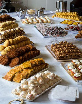 Cakes at Carcass Island