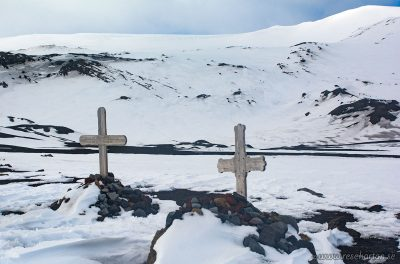 Graves at Deception Island