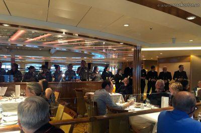 Kaptenensmiddag, Hurtigruten