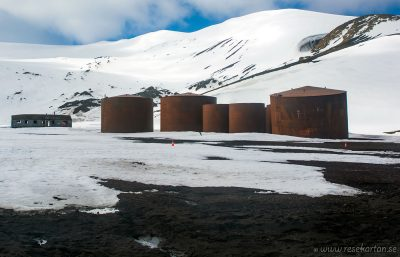 Old whale station, Deception Island